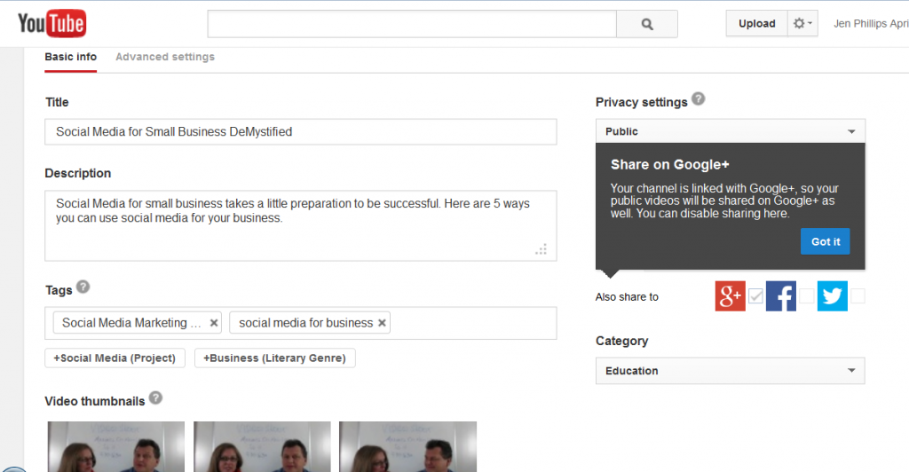 YouTube Descriptions Helps with SEO